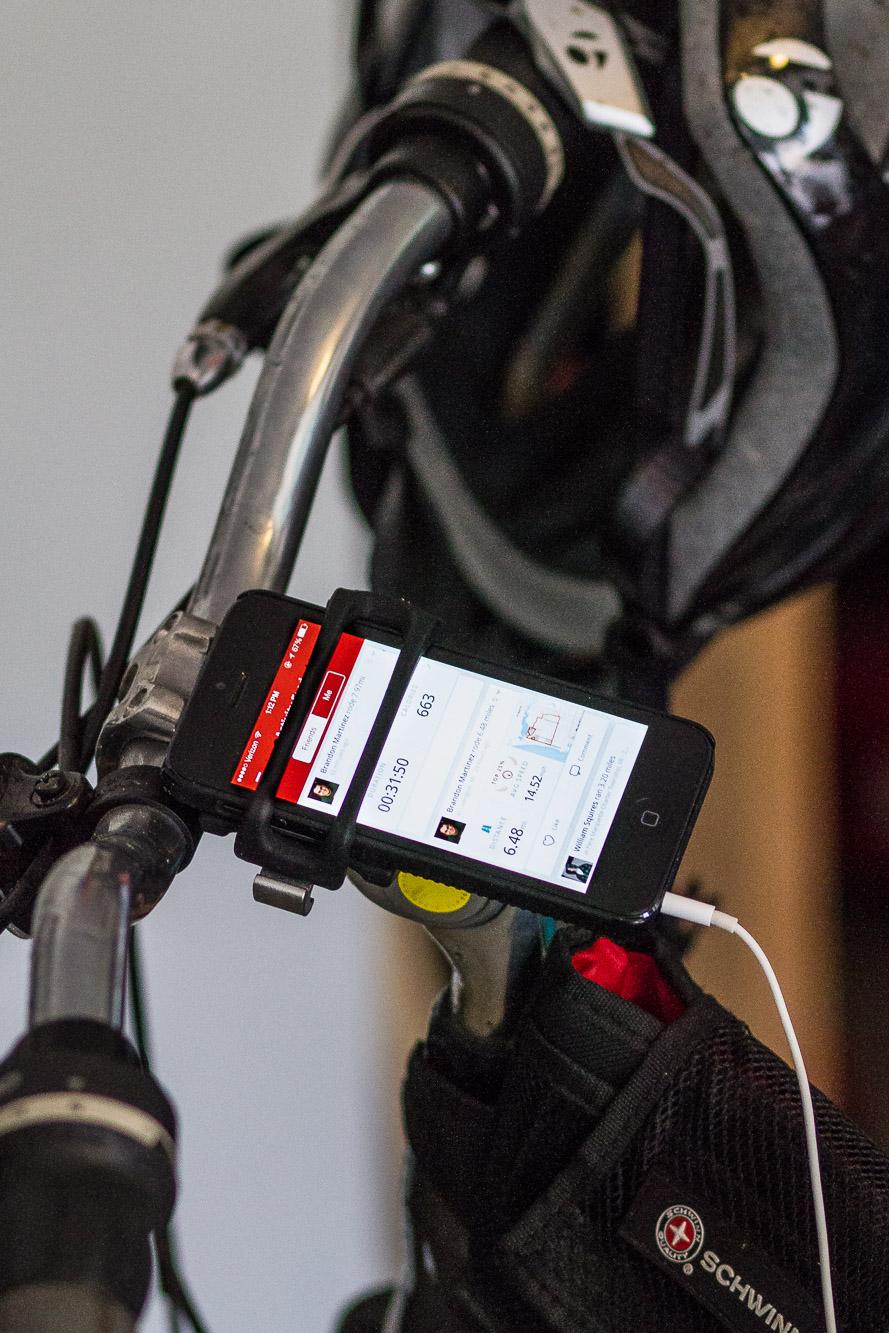 HandleBand on my bike handlebars